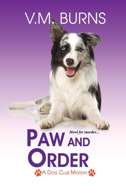 Paw and Order V M Burns Book Cover