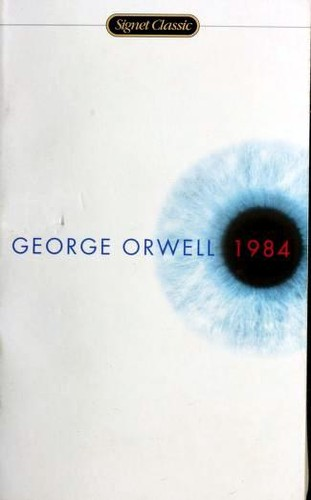 1984 George Orwell Book Cover