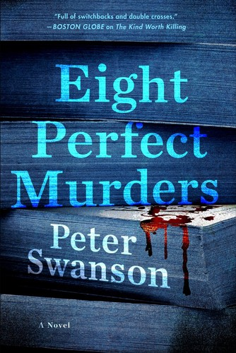 Eight Perfect Murders Peter Swanson Book Cover