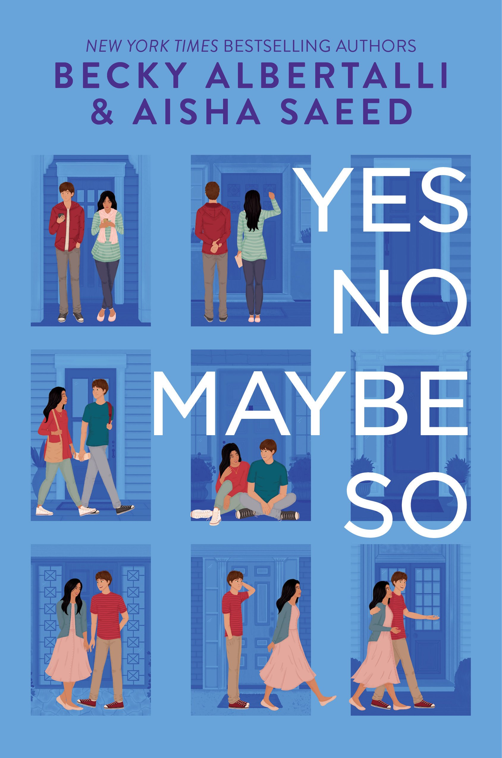 Yes No Maybe So Becky Albertalli Book Cover