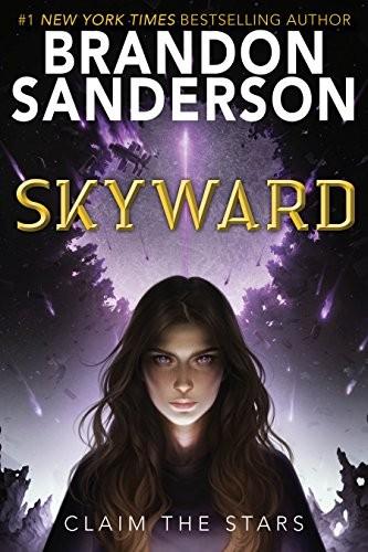 Skyward Brandon Sanderson Book Cover