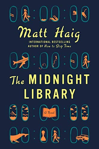 The Midnight Library Matt Haig Book Cover