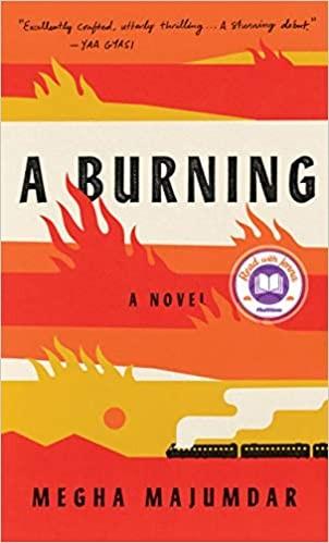 Burning Megha Majumdar Book Cover