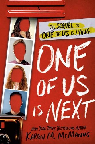 One of Us is Next Karen M. McManus Book Cover