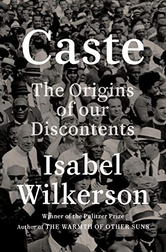 Caste Isabel Wilkerson Book Cover