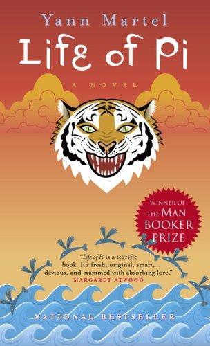 LIFE OF PI Yann Martel Book Cover