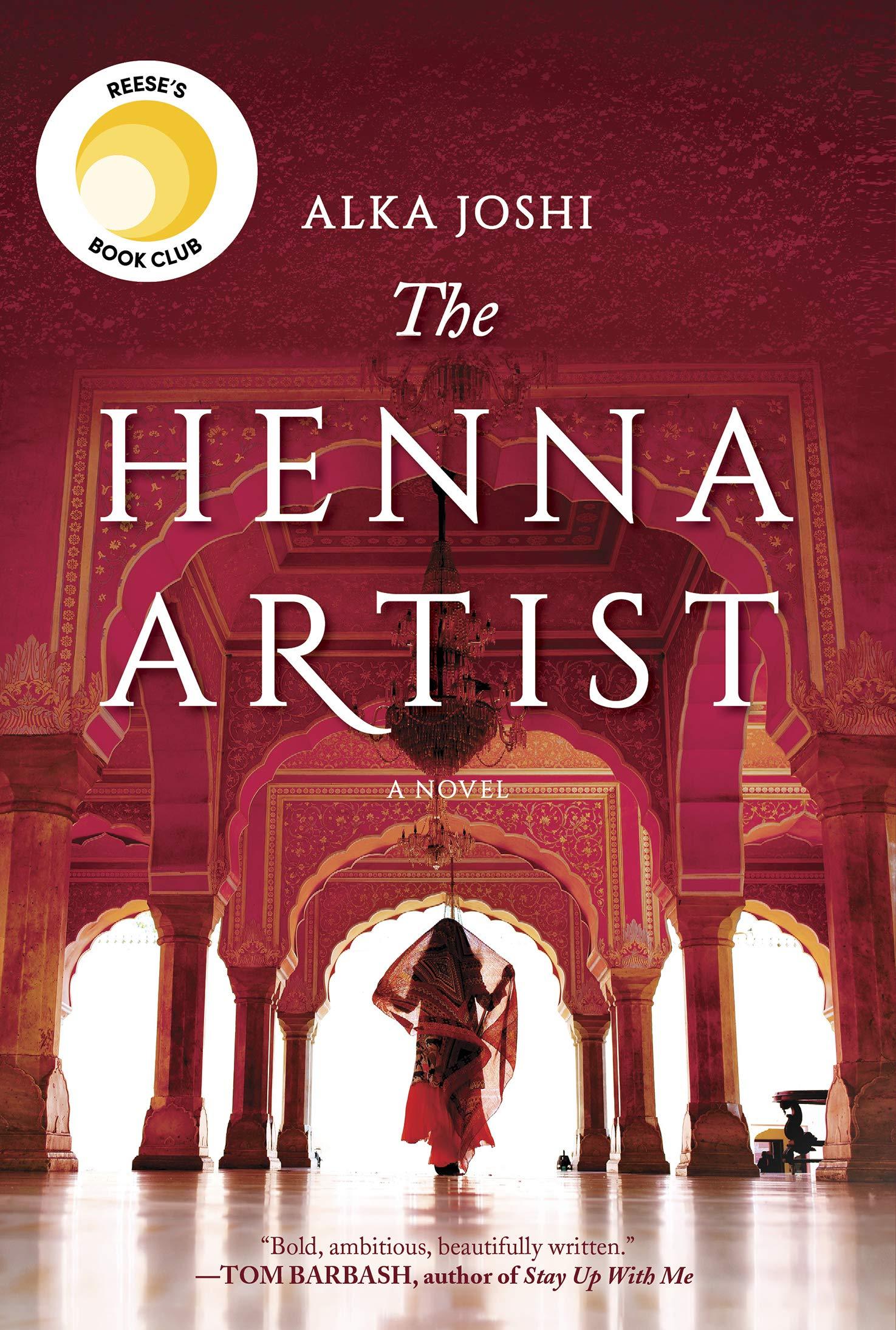 The Henna Artist Alka Joshi Book Cover
