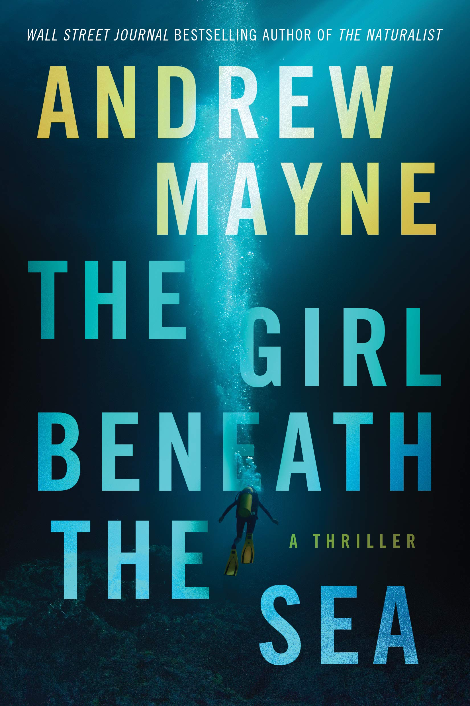 Girl Beneath the Sea Andrew Mayne Book Cover