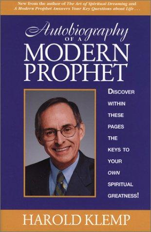 Autobiography of a Modern Prophet Harold Klemp Book Cover