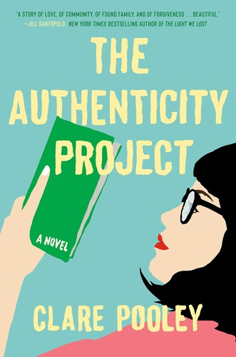 The Authenticity Project Clare Pooley Book Cover