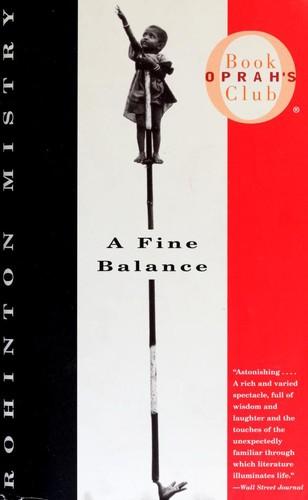 A Fine Balance Rohinton Mistry Book Cover