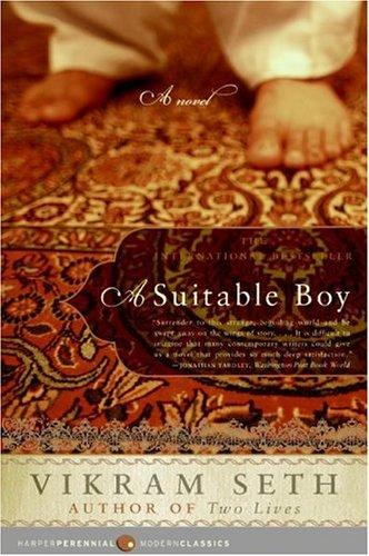 A Suitable Boy Vikram Seth Book Cover
