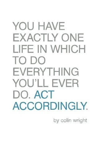 Act Accordingly Colin Wright Book Cover