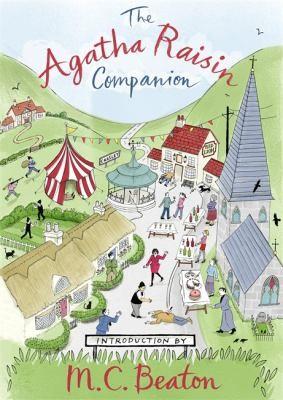 Agatha Raisin Companion M. C. Beaton Book Cover