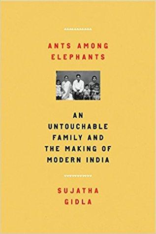 Ants Among Elephants Sujatha Gidla Book Cover