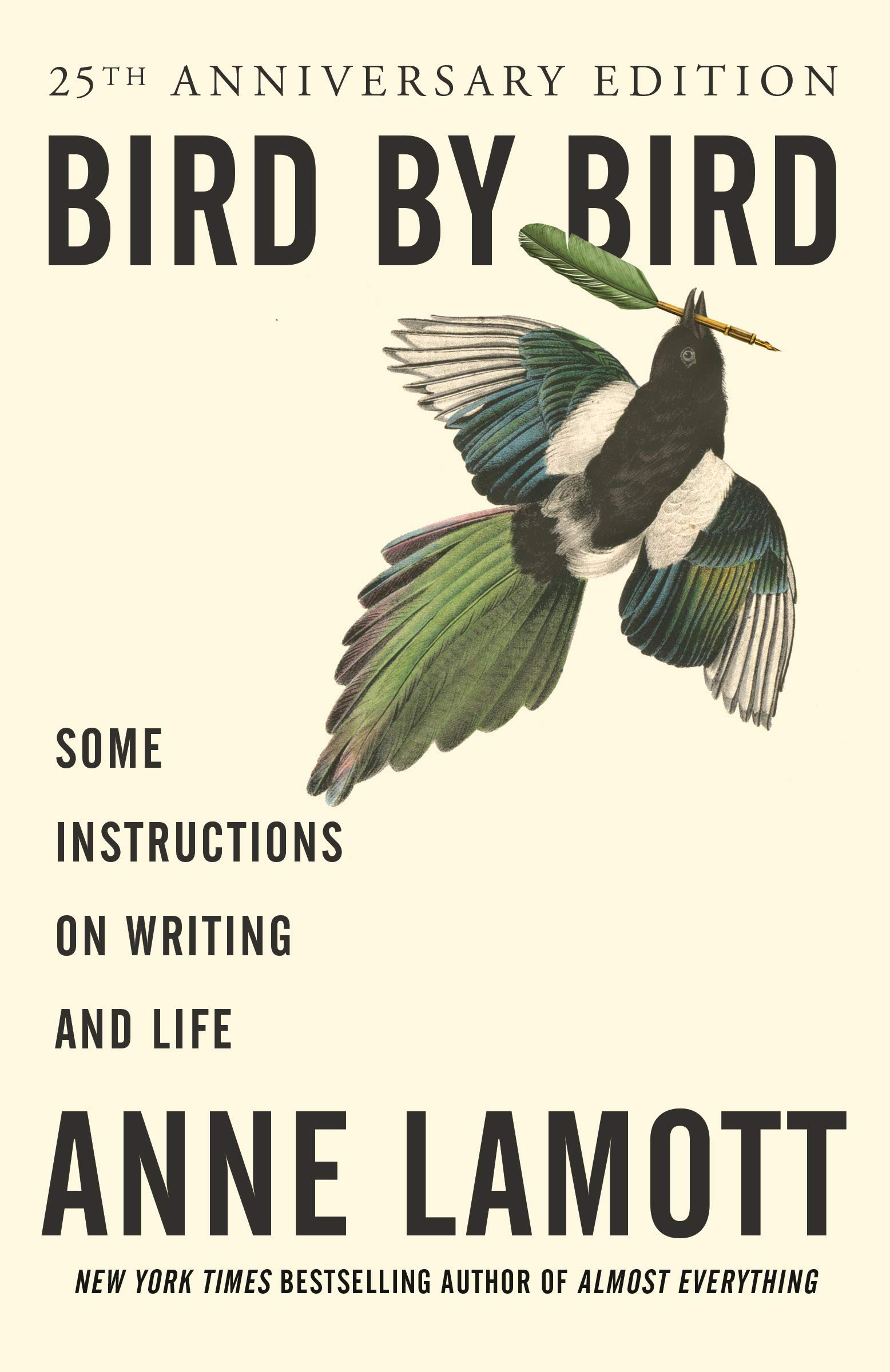 Bird by Bird Anne Lamott Book Cover