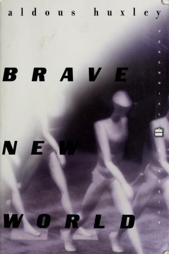Brave New World Aldous Huxley Book Cover