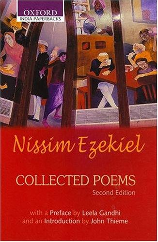 Collected Poems Nissim Ezekiel Book Cover