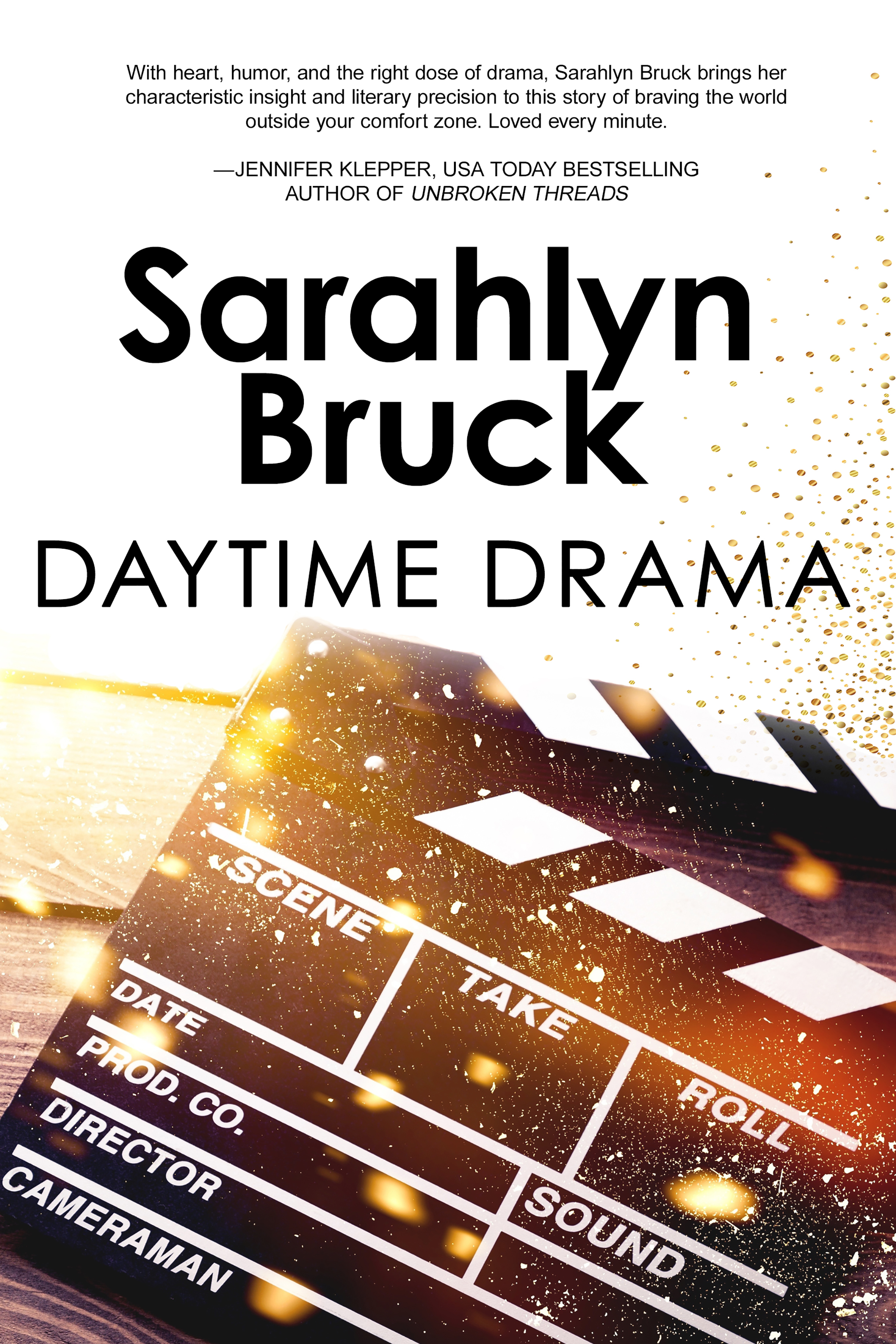 Daytime Drama Sarahlyn Bruck Book Cover