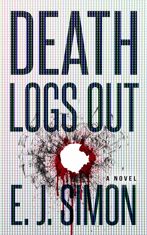 Death Logs Out E. J. Simon Book Cover