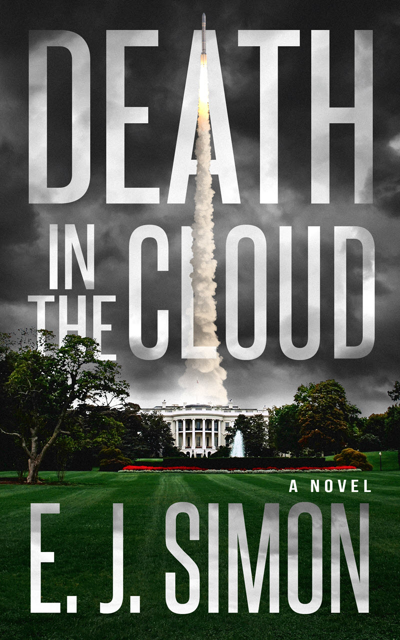 Death in the Cloud E. J. Simon Book Cover