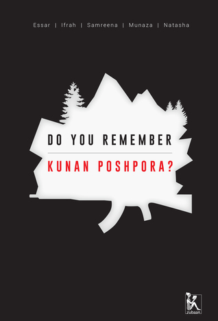 Do You Remember Kunan Poshpora? Samreen Mushtaq Book Cover