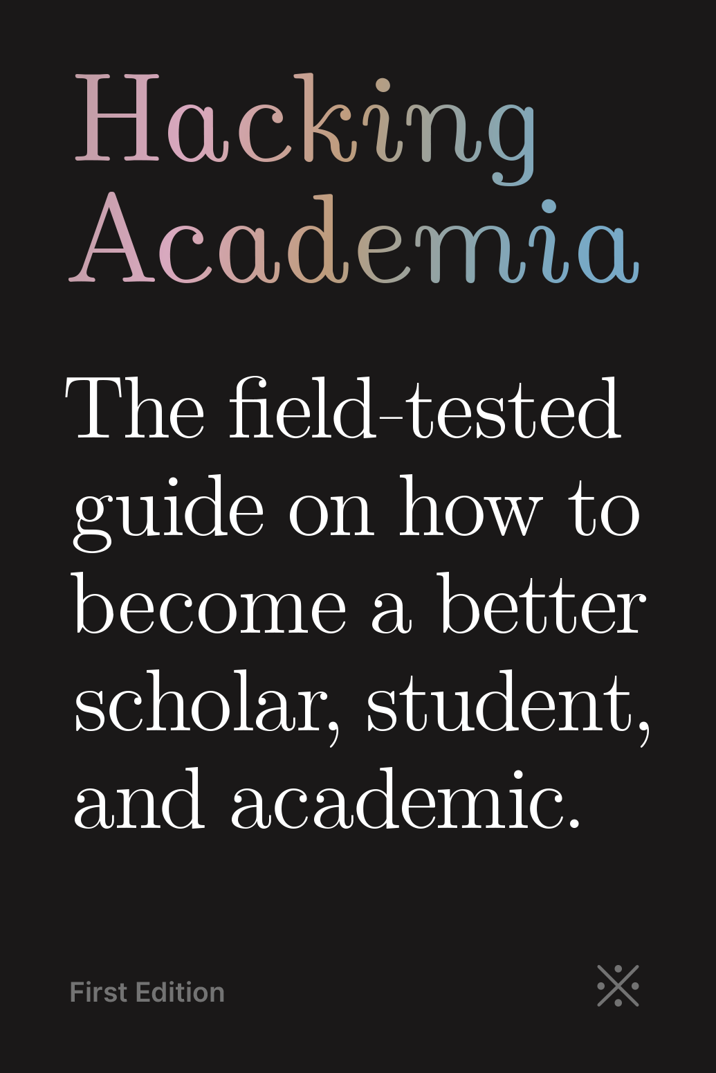 Hacking Academia The Anonymous Academic Book Cover