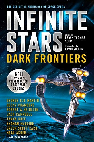 INFINITE STARS Bryan Thomas Schmidt Book Cover