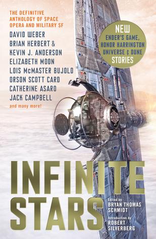 Infinite Stars Bryan Thomas Schmidt Book Cover