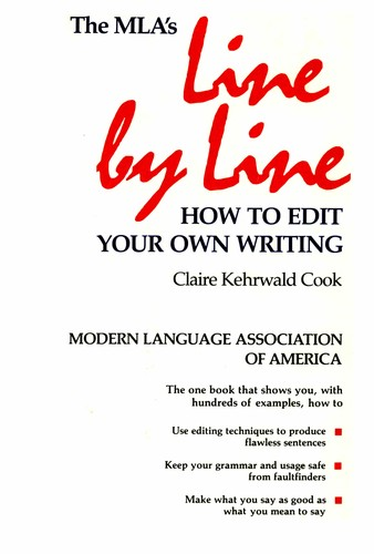 Line by Line Claire Kehrwald Cook Book Cover