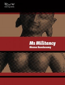 Ms Militancy Meena Kandasamy Book Cover