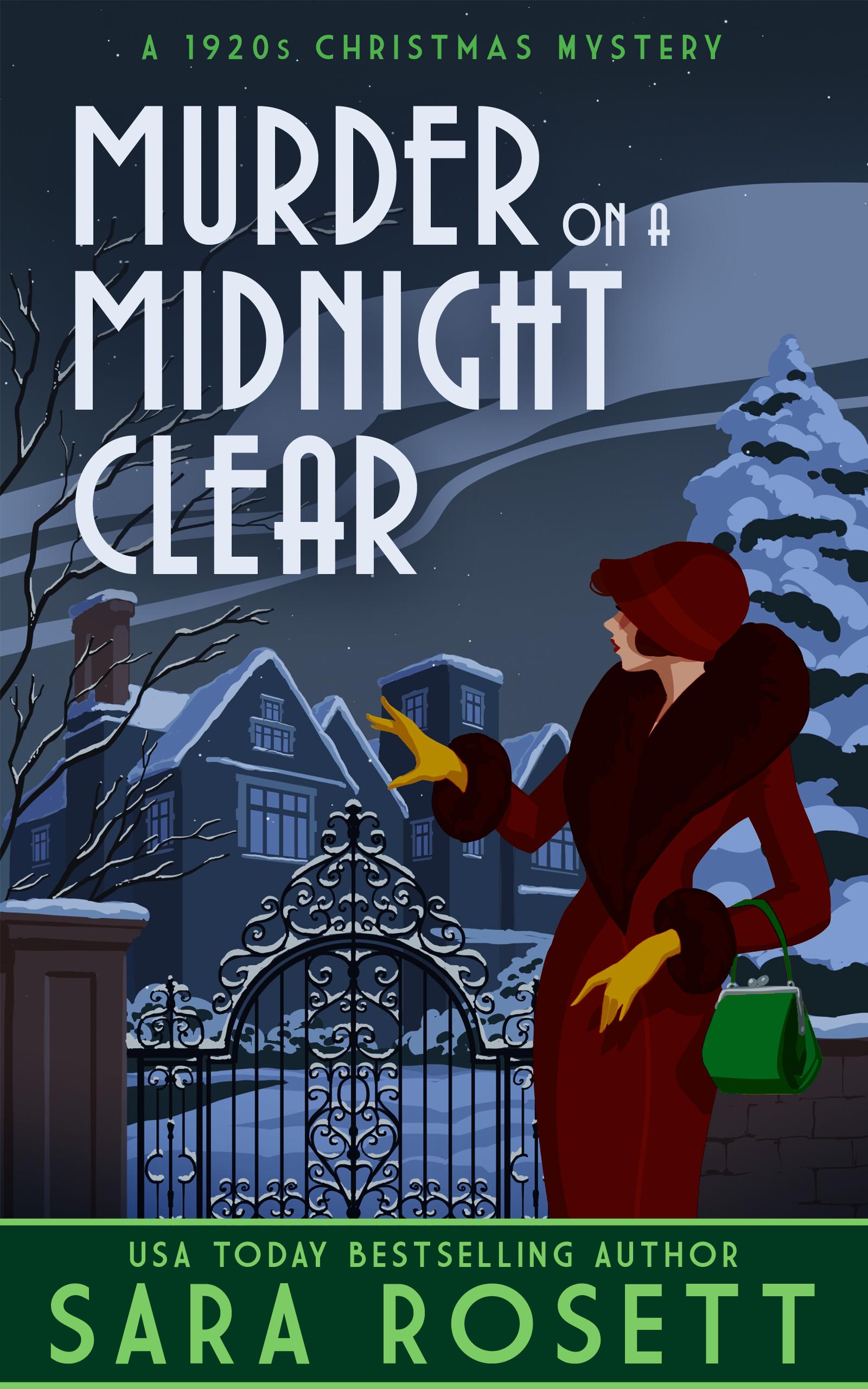 Murder on a Midnight Clear Sara Rosett Book Cover