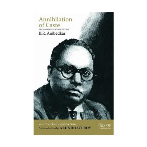 Annihilation Of Caste B. R. Ambedkar Book Cover
