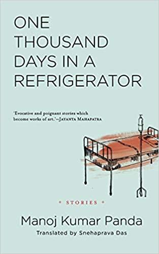 One Thousand Days in a Refrigerator (English) Manoj Kumar Panda Book Cover