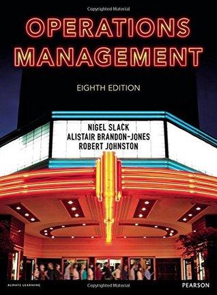 Operations Management Nigel Slack Book Cover
