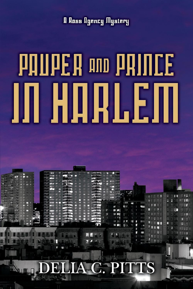 Pauper and Prince in Harlem Delia C. Pitts Book Cover