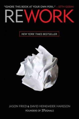 Rework Jason Fried Book Cover
