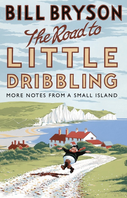 Road to Little Dribbling Bill Bryson Book Cover