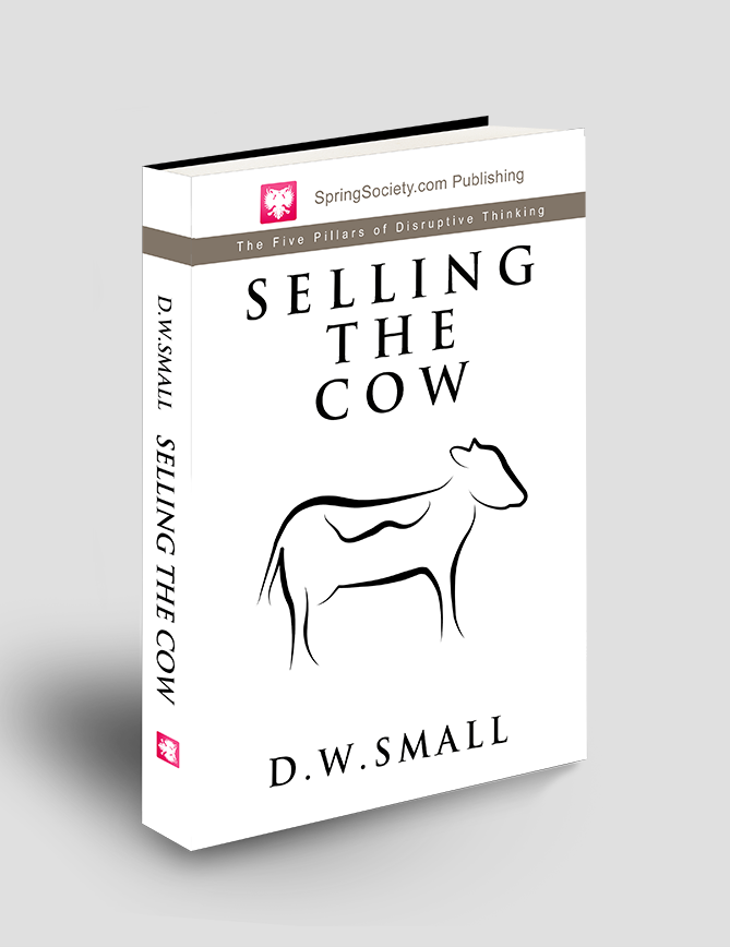 Selling The Cow D. W. Small Book Cover