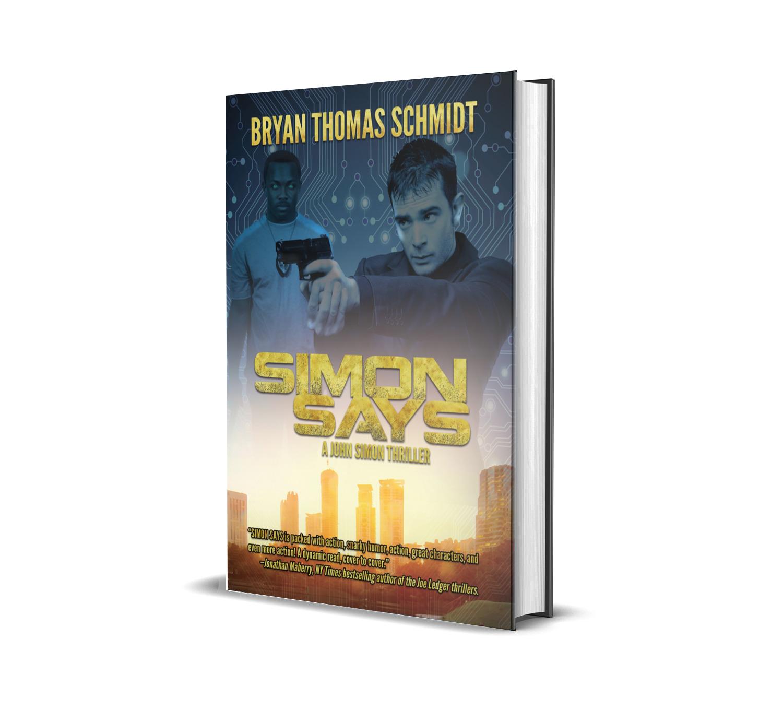 Simon Says Bryan Thomas Schmidt Book Cover