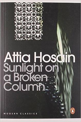 Sunlight On A Broken Column Attia Hosain Book Cover