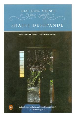 That Long Silence Shashi Deshpande Book Cover