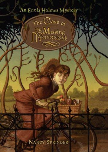 The Case of the Missing Marquess Nancy Springer Book Cover