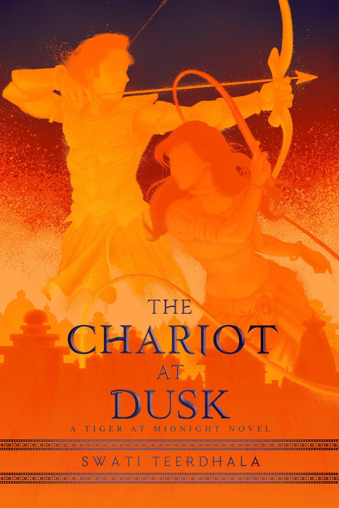 The Chariot at Dusk Swati Teerdhala Book Cover