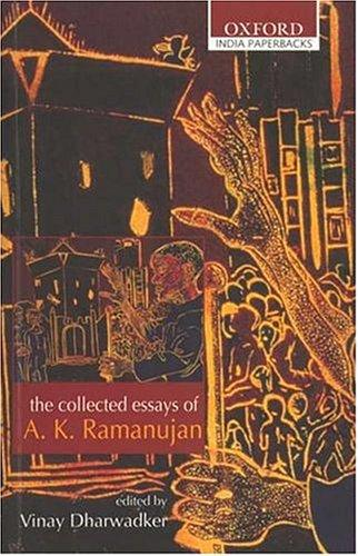The Collected Poems of A. K. Ramanujan A. K. Ramanujan Book Cover