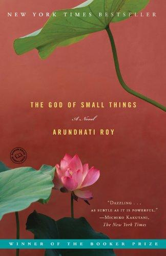 The God of Small Things Arundhati Roy Book Cover