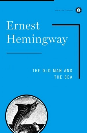 The Old Man and the Sea Ernest Hemingway Book Cover