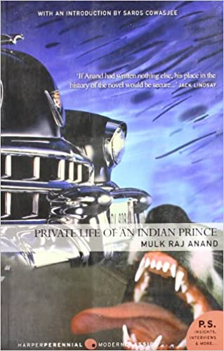 The Private Life Of An Indian Prince Mulk Raj Anand Book Cover