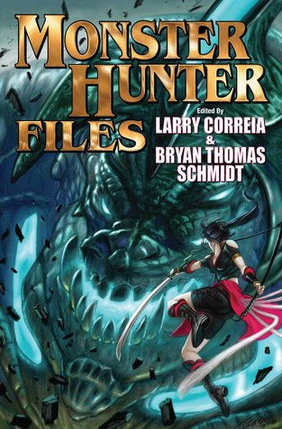 The Monster Hunter Files Larry Correia Book Cover