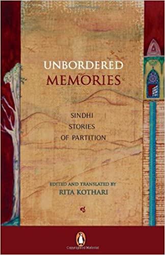 Unbordered Memories (English) Rita Kothari Book Cover